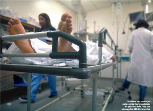 Urgencias consultas nos centros de saude